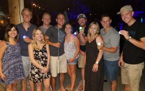 Glow Golf friends