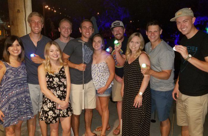 Glow Golf friends