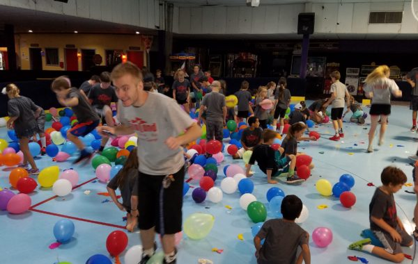Summer Camp Balloon Drop