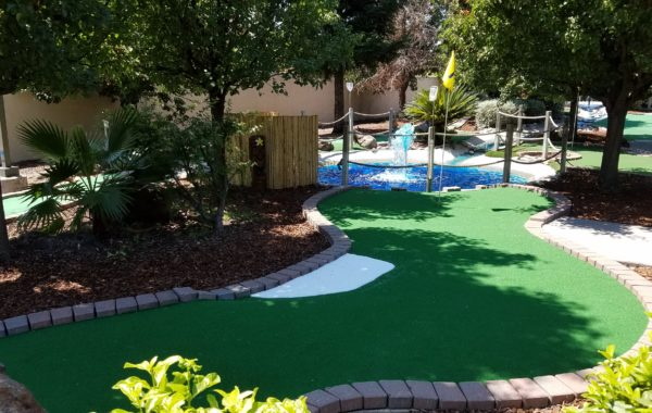 Mini Golf – Hole #1
