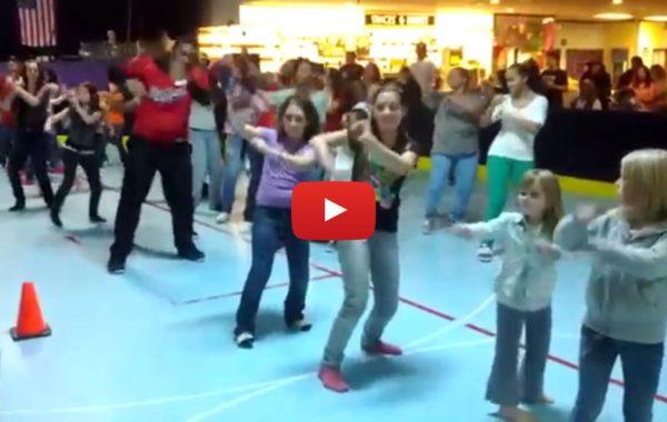 DJ Swang's Wobble Dance Video