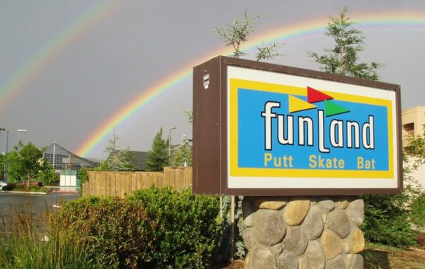 FunLand's Double Rainbow!